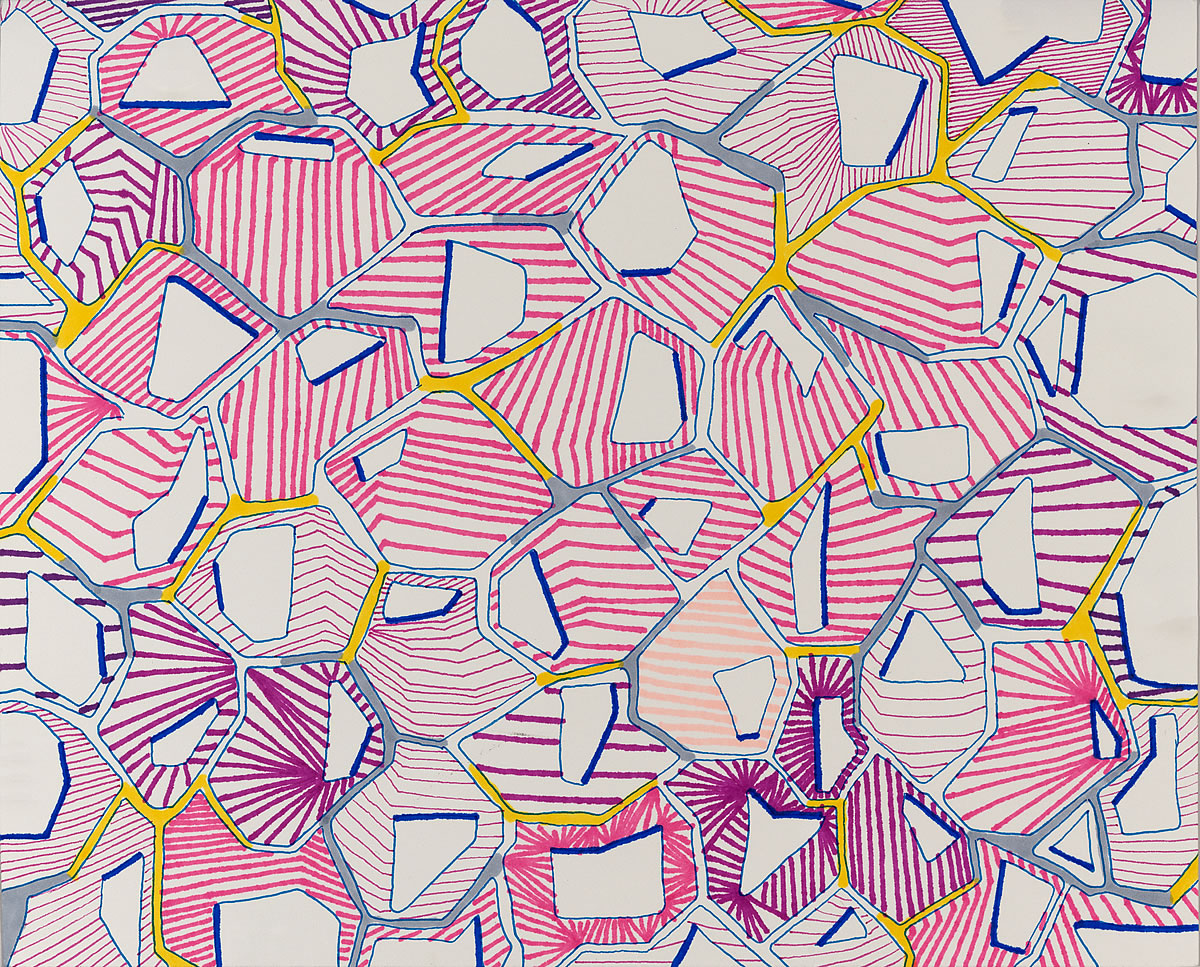 Untitled (26d_12), pen and marker on paper, 8 by 10 inches, 2016